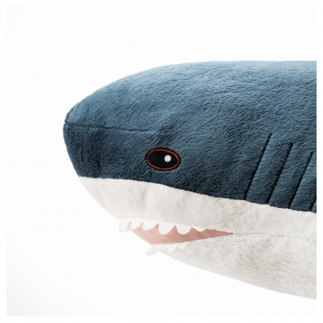 Мягкая игрушка БЛОХЭЙ акула фото 1